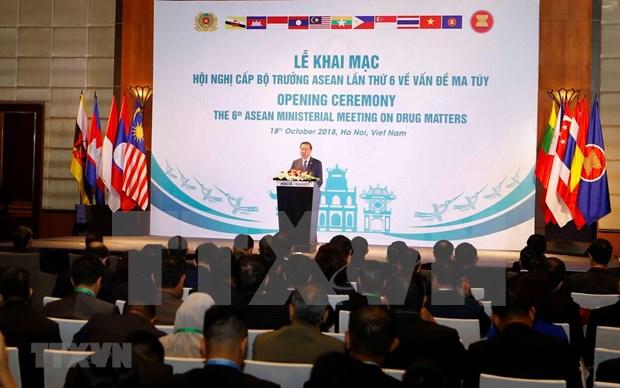 Vietnam reafirma su compromiso en lucha contra drogas hinh anh 1