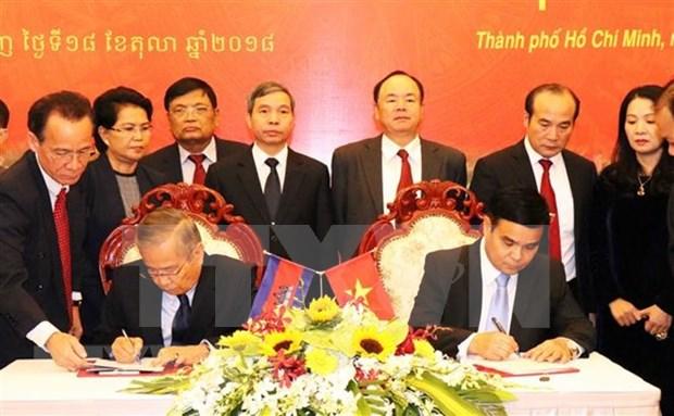 Refuerzan colaboracion con Camboya en repatriacion de restos de internacionalistas vietnamitas hinh anh 1