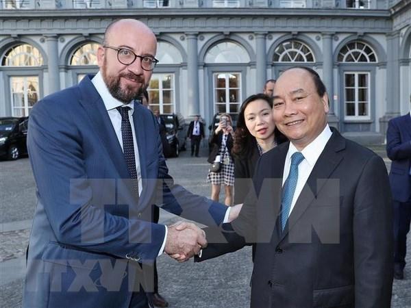 Vietnam y Belgica dispuestos a profundizar nexos bilaterales hinh anh 1