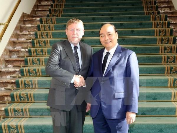 Premier vietnamita destaca cooperacion parlamentaria con Belgica hinh anh 1