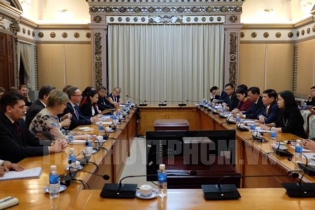 Ciudad Ho Chi Minh aboga por estrechar lazos economicos con Finlandia hinh anh 1