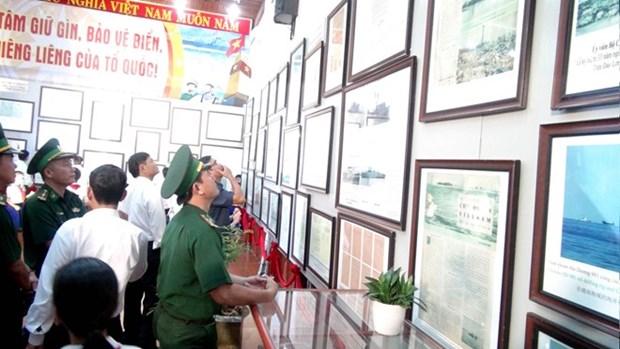 Exhibicion confirma soberania vietnamita en Hoang Sa y Truong Sa hinh anh 1