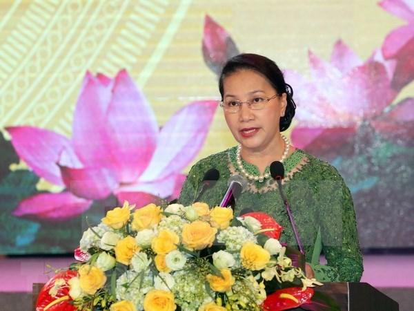 Presidenta de Parlamento insta a Bac Ninh a promover desarrollo sostenible hinh anh 1