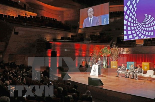 Premier de Vietnam asiste a Cumbre de P4G en Dinamarca hinh anh 1