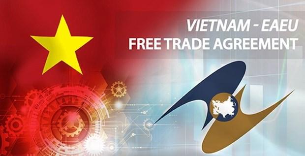 TLC entre Vietnam y Union Economica Euroasiatica promueven comercio bilateral hinh anh 1
