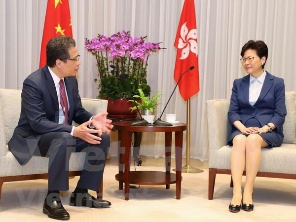 Impulsan cooperacion multisectorial entre Vietnam y Hong Kong (China) hinh anh 1