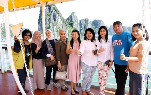 Ha Long recibira al turista extranjero numero 15 millones de Vietnam hinh anh 1