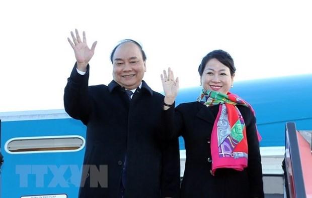 Premier de Vietnam regresa a Hanoi tras exitosa gira por Europa hinh anh 1