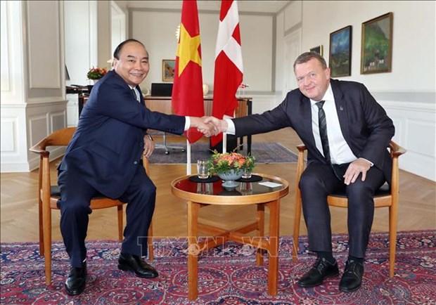 Vietnam y Dinamarca emiten declaracion conjunta hinh anh 1