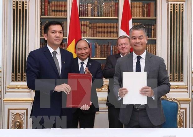 Vietnam y Dinamarca reafirman disposicion de robustecer colaboracion hinh anh 1