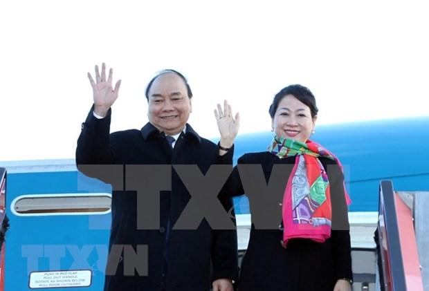Concluye premier vietnamita su visita en Dinamarca hinh anh 1