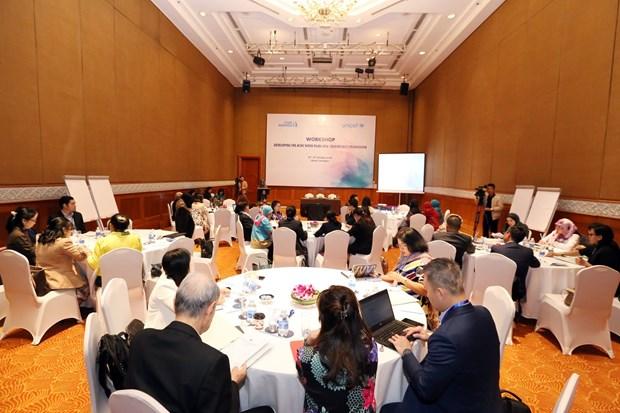 Paises de ASEAN deliberan en Hanoi medidas para impulsar labores de proteccion de mujeres y ninos hinh anh 1