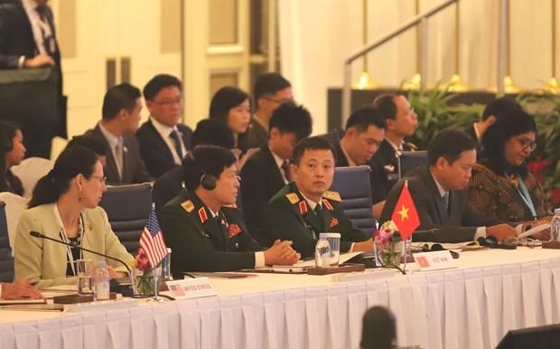 Vietnam asiste de manera activa a Reunion de Ministros de Defensa de ASEAN hinh anh 1