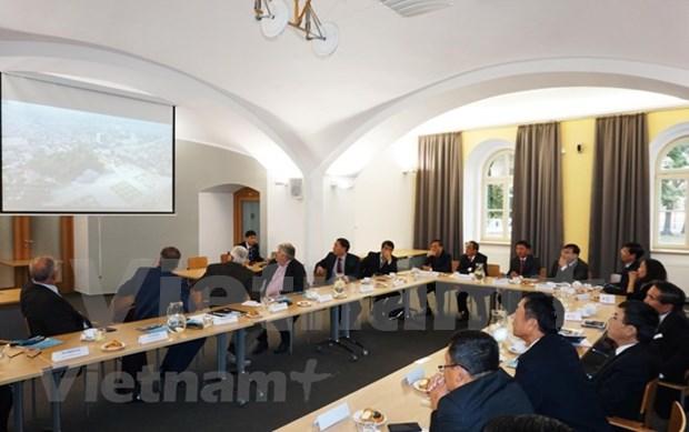 Localidades vietnamita y checa buscan oportunidades de cooperacion hinh anh 1