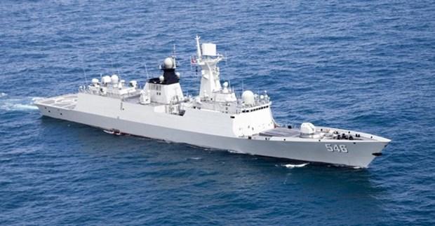 ASEAN y China realizan primer ejercicio conjunto en Mar del Este hinh anh 1