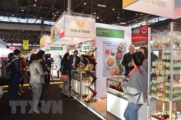 Industria alimenticia de Vietnam conquista mercado europeo en feria hinh anh 1