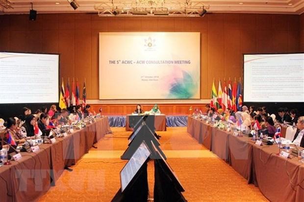 ASEAN aspira a impulsar garantia de derechos de mujeres hinh anh 1