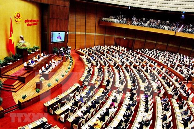 Parlamento de Vietnam analiza situacion de presupuesto estatal y reestructuracion economica hinh anh 1
