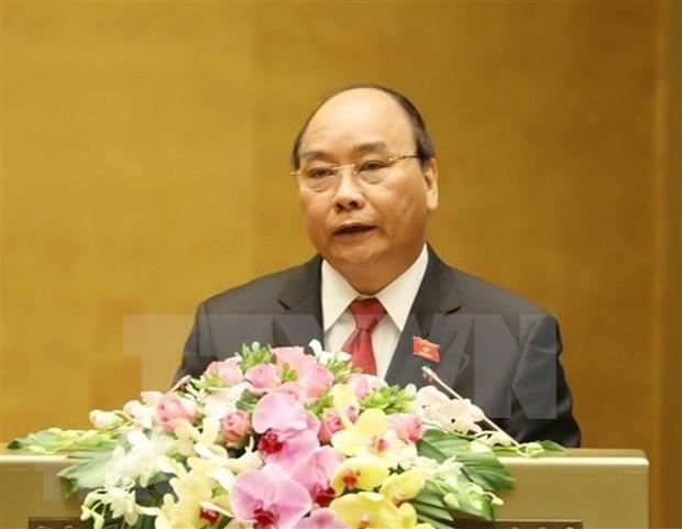 Premier vietnamita reitera determinacion de cumplir el plan de desarrollo de 2018 hinh anh 1