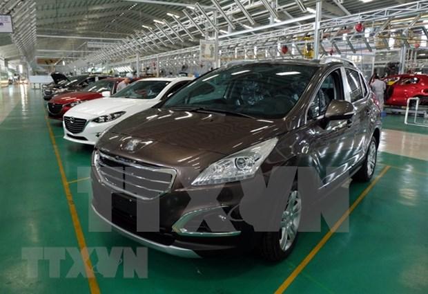 Registra Vietnam alto aumento en importacion de automoviles de Estados Unidos hinh anh 1