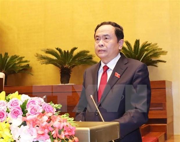 Votantes vietnamitas ratifican confianza en liderazgo del Partido , afirma presidente Frente de la Patria hinh anh 1