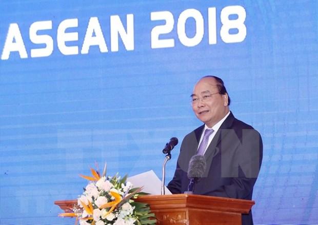 Implementan resultados e iniciativas de Vietnam en FEM-ASEAN 2018 hinh anh 1