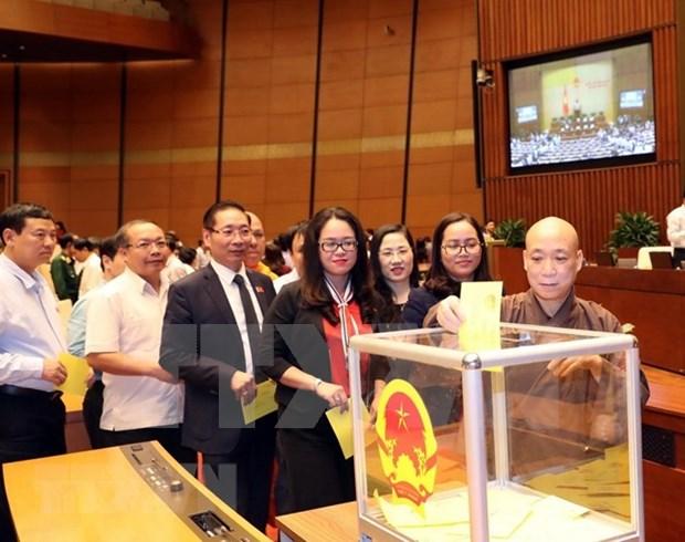 Nominacion del Secretario General del PC de Vietnam como Presidente de Estado alcanza alto consenso de diputados hinh anh 1
