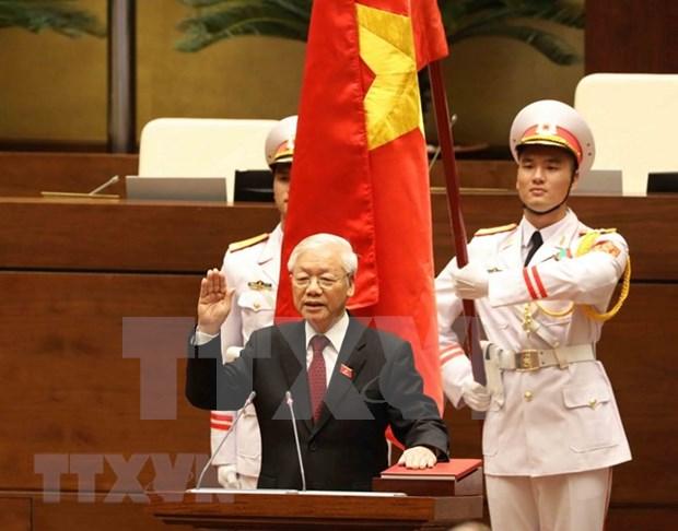 Biografia del recien electo Presidente de Vietnam, Nguyen Phu Trong hinh anh 1
