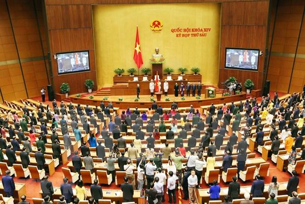 Parlamento de Vietnam concluye segunda jornada de sexto periodo de sesiones hinh anh 1