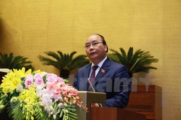 Optimistas diputados de Vietnam sobre panorama socioeconomico nacional hinh anh 1