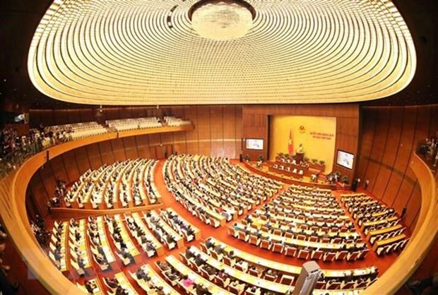 Voto de confianza en Asamblea Nacional acapara atencion del electorado vietnamita hinh anh 1