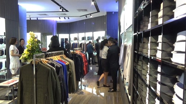 Empresas de moda vietnamitas conquistan mercado mundial en exposicion en Japon hinh anh 1