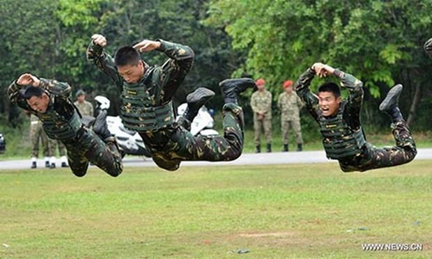 China, Malasia y Tailandia realizan primer ejercicio militar conjunto hinh anh 1