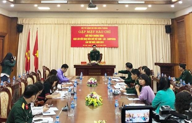 Kon Tum acogera intercambio de amistad Vietnam-Laos-Camboya hinh anh 1