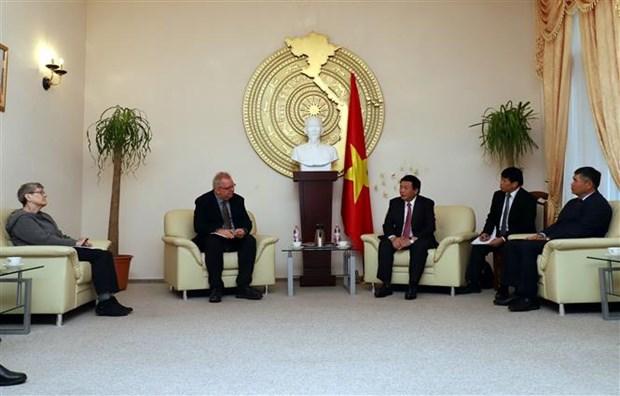 Vietnam y Alemania debaten problemas teoricos y practicos del socialismo hinh anh 1