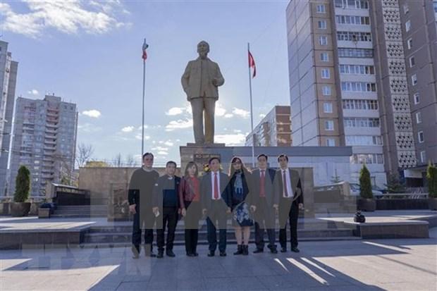Localidades de Vietnam y Rusia buscan robustecer cooperacion hinh anh 1