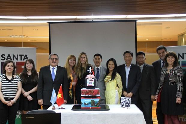 Efectuan Semana de Cultura y Turismo de Vietnam en Argentina hinh anh 1