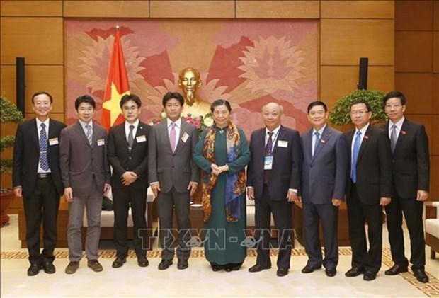 Subjefa del Parlamento de Vietnam resalta lazos con Japon en materia de salud hinh anh 1