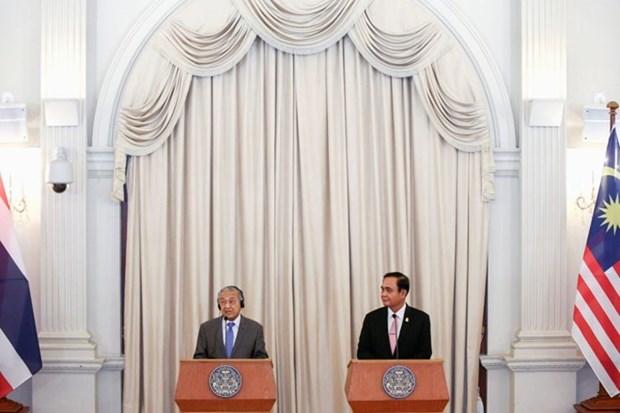 Primeros ministros de Tailandia y Malasia analizan cooperacion en materia de seguridad hinh anh 1