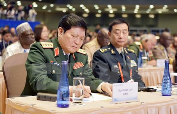 Vietnam contribuye a mecanismos de cooperacion de seguridad de ASEAN, afirma ministro de Defensa hinh anh 1