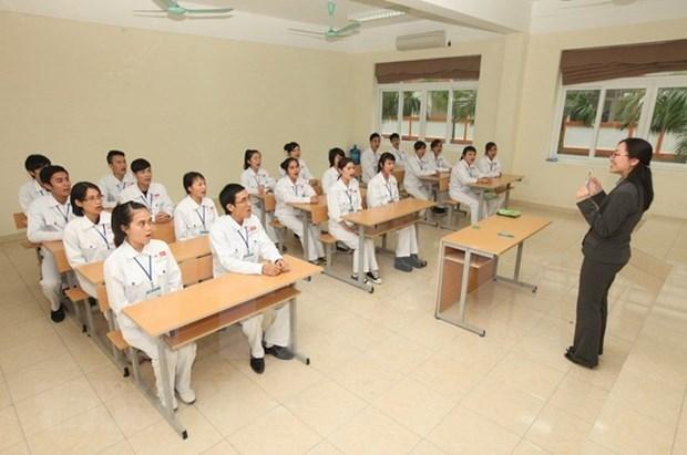 Japon lanza programa de formacion de profesores de idioma japones en Vietnam hinh anh 1