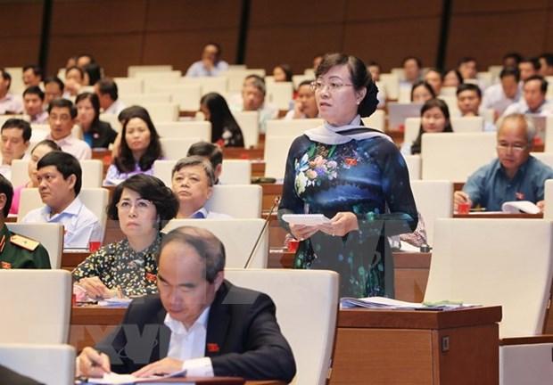 Parlamento de Vietnam analiza Ley de prevencion y lucha contra corrupcion hinh anh 1