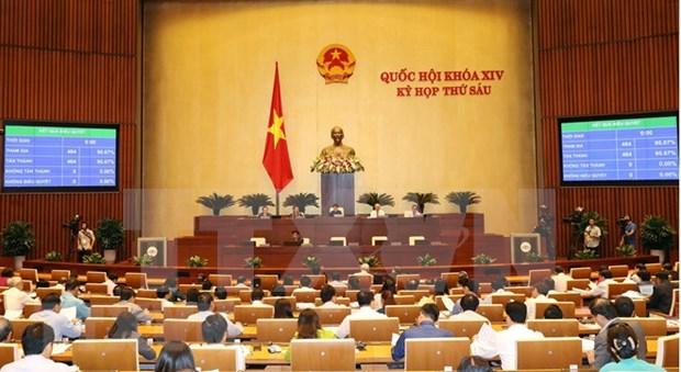 Parlamento de Vietnam emite resultado de votacion de confianza hinh anh 1