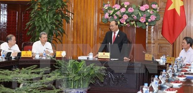 Premier de Vietnam exhorta a la conservacion del Palacio Imperial de Hue hinh anh 1