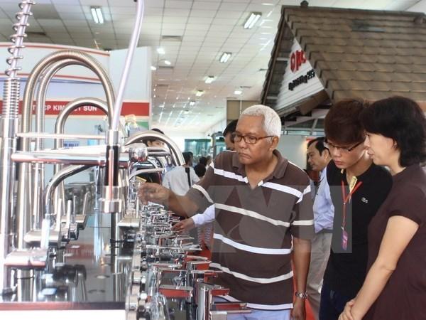Abren en Ciudad Ho Chi Minh mayor exposicion del sector construccion de Vietnam hinh anh 1