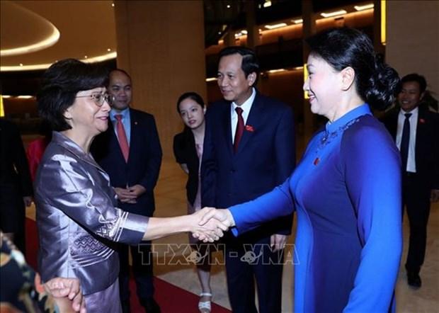 Vietnam prioriza promover la igualdad de genero, ratifica presidenta parlamentaria hinh anh 1