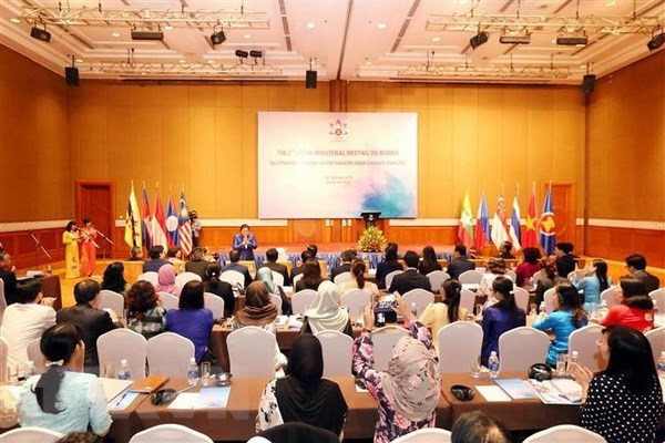 Reunion de la ASEAN promueve seguridad social para mujeres y ninas hinh anh 1