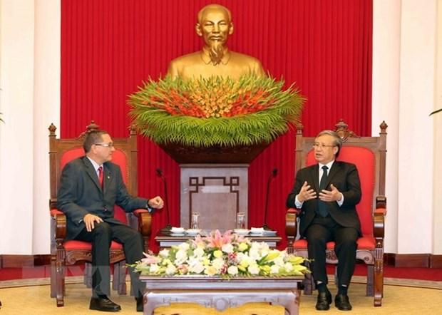 Vietnam apoya proceso de democracia en Venezuela, afirma alto funcionario partidista hinh anh 1
