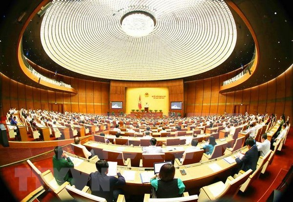 Parlamento de Vietnam continua debate sobre situacion socioeconomica hinh anh 1