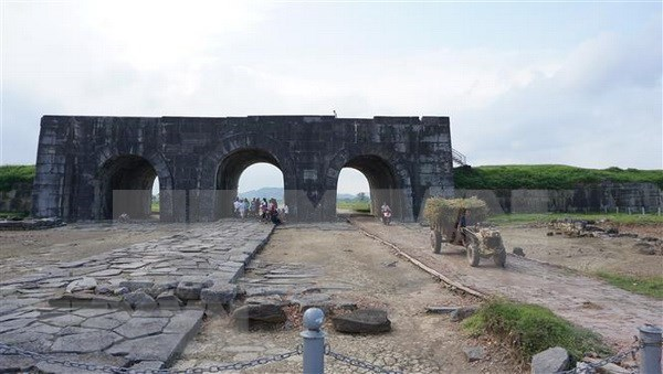 Estados Unidos financia proyecto de restauracion de ciudadela de dinastia Ho hinh anh 1